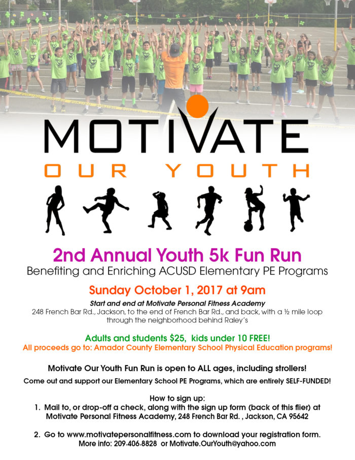 2nd Annual Youth 5K Fun Run