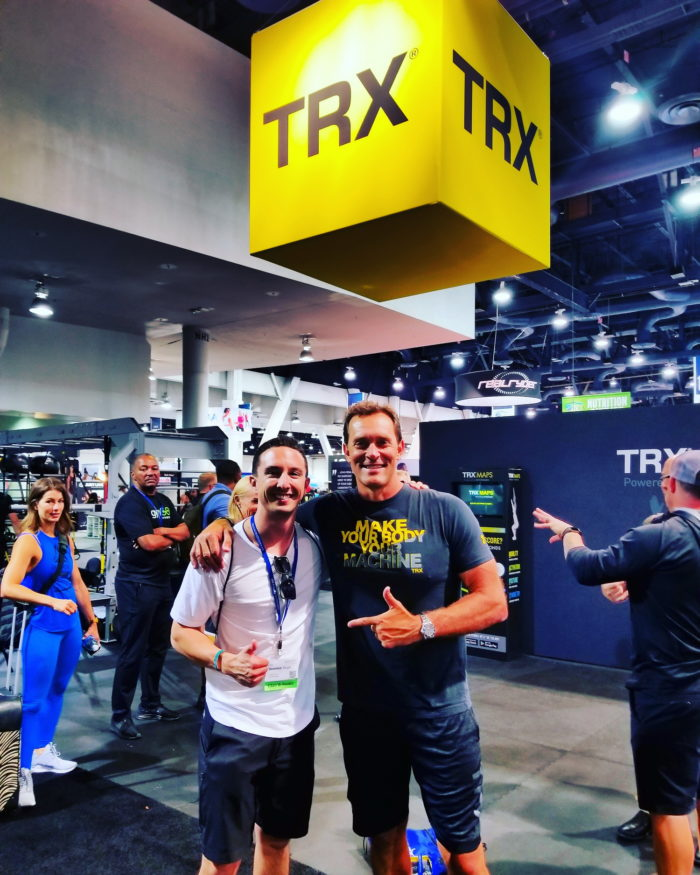 Me with Creater of TRX Randy Hetrick